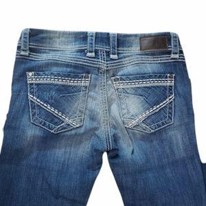 BKE Denim Addison Straight Stretch Jeans 28